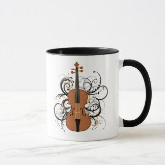 Violin Swirls