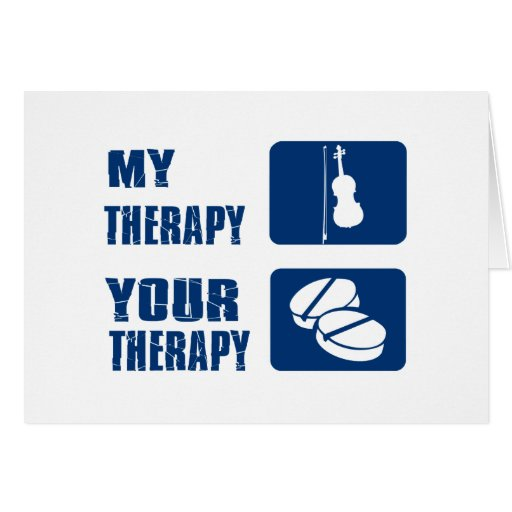 violin therapy design cards