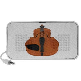 Violin: Traditional Wood Finish: Custom Speakers