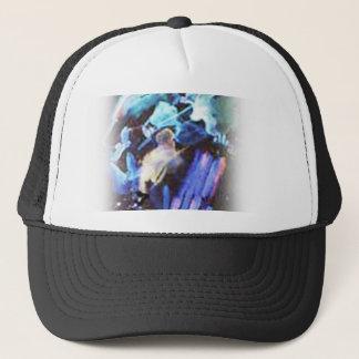 violin trucker hat