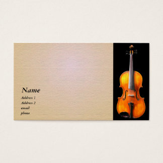 Violin / Viola Business Card