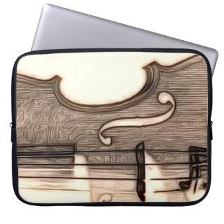 Violin, Viola, Cello? Laptop Sleeve