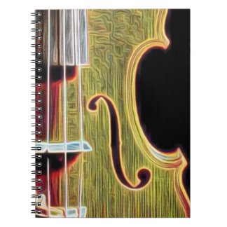 Violin, Viola, Cello? Notebooks