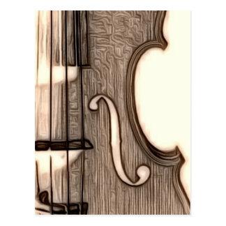 Violin, Viola, Cello? Postcard