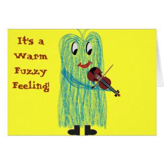 Violin & Viola - Get a Warm Fuzzy Feeling Cards