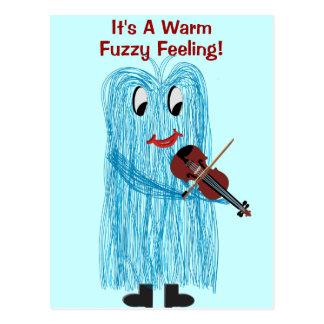 Violin & Viola - Get a Warm Fuzzy Feeling Postcard