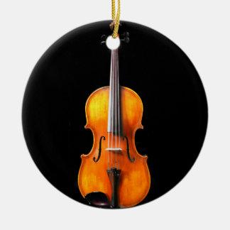 Violin/Viola Ornament by Leslie Harlow