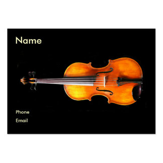 Violin viola Profile Card by Leslie Harlow Business Card