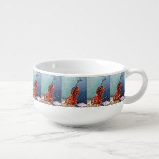 Violin/Violin Soup Mug