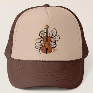 Violin with Swirls Trucker Hat
