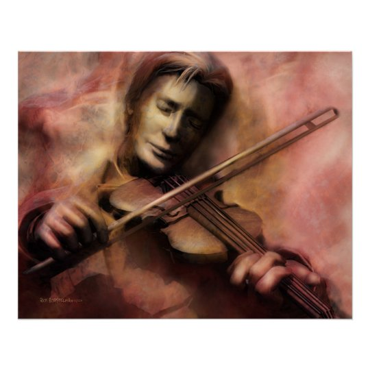 Violinist Poster
