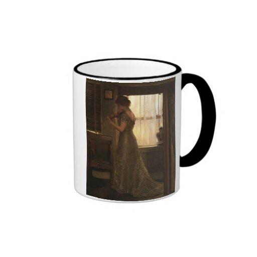 Violinist Ringer Coffee Mug