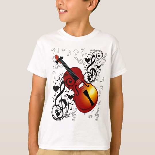 Violinist,Rock the House_ T-Shirt
