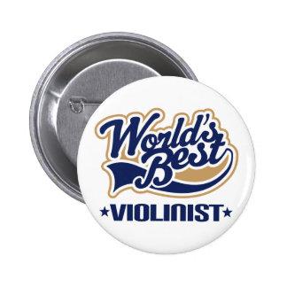 Violinist (Worlds Best) 6 Cm Round Badge