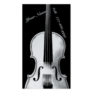 Violinistic Pack Of Standard Business Cards