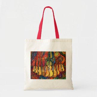 Violins Budget Tote Bag