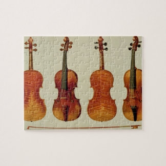 Violins (LtoR): the 'Alard' by Antonio Stradivariu Puzzles