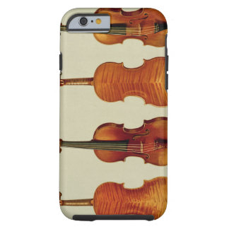 Violins (LtoR): the 'Alard' by Antonio Stradivariu Tough iPhone 6 Case