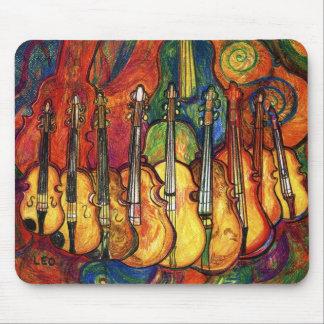 Violins Mouse Mat