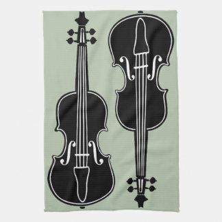 Violins Tea Towel