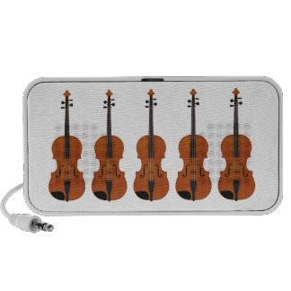 Violins: Traditional Wood Finish: Custom Speakers