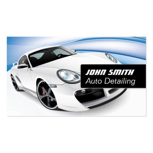 VIP Auto Detailing/Car Wash Business Card