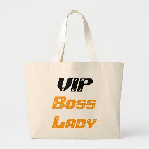 VIP Boss Lady Jumbo Tote Bags