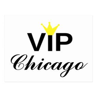 VIP Crown Chicago Postcard