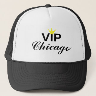 VIP Crown Chicago Trucker Hat
