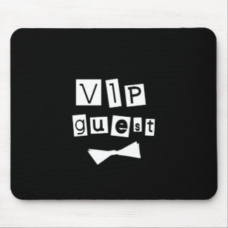 VIP Guest Bow Tie Mouse Pad