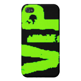 vip neon green music dance party fun clubs exclusi covers for iPhone 4