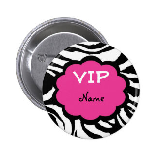 VIP Personalized Party Favor Buttons
