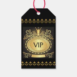 VIP Royal Elegant Monogram Gift Tag - SRF
