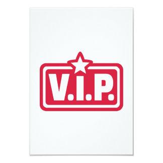 """VIP very important Person 3.5"""" X 5"""" Invitation Card"""