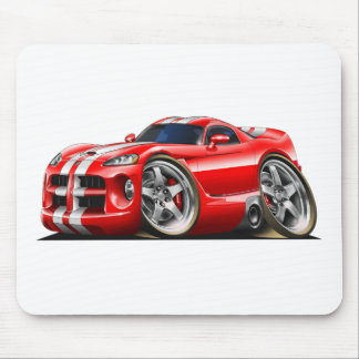Viper GTS Red/Wht Mouse Mat