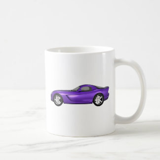 Viper Hard-Top Muscle Car: Purple Finish Coffee Mug