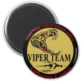 Viper Team 6 Cm Round Magnet