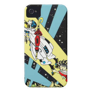 Viperetta Flies to the Moon iPhone 4 Case