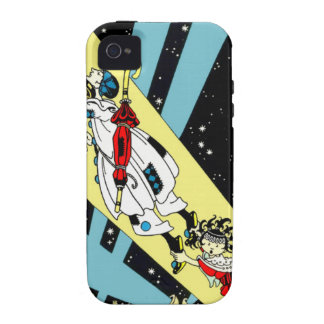 Viperetta Flies to the Moon Case-Mate iPhone 4 Cases