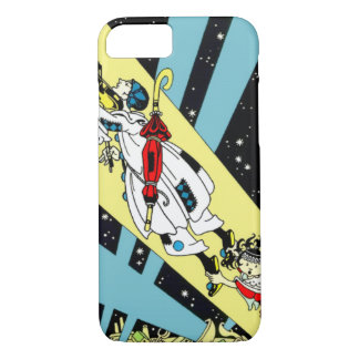 Viperetta Flies to the Moon iPhone 8/7 Case