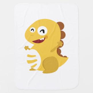 VIPKID Dino Baby Blanket