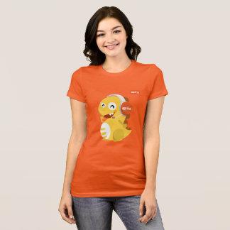 VIPKID Headset Dino T-Shirt (orange)