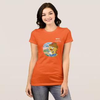 VIPKID Short Sleeve T-Shirt for Teacher Megan DDR