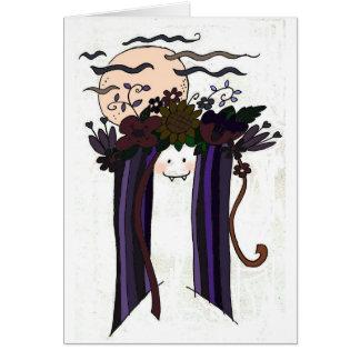 Vira the Vampire Greeting Cards