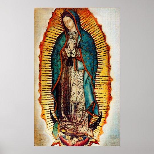 Virgen GuadalupePop Poster