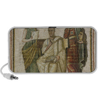 Virgil  and the Muses, from Sousse iPhone Speaker