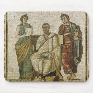 Virgil  and the Muses, from Sousse Mouse Mat