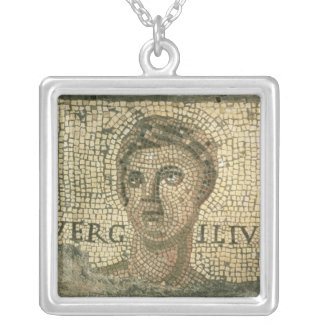 Virgil Silver Plated Necklace