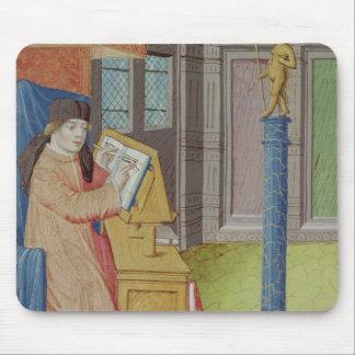 Virgil writing before Artemis Mouse Pad
