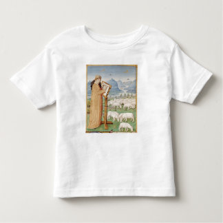 Virgil Writing in a Field of Sheep and Goats Toddler T-Shirt